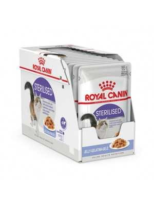 ROYAL CANIN STERILISED IN JELLY 85GR/12τμχ