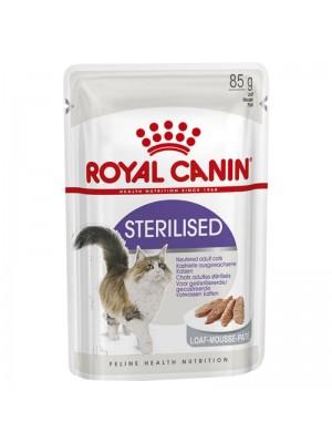 ROYAL CANIN STERILISED LOAF 85GR