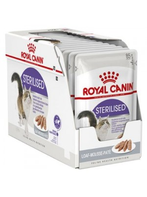 ROYAL CANIN STERILISED LOAF 85GR/12τμχ