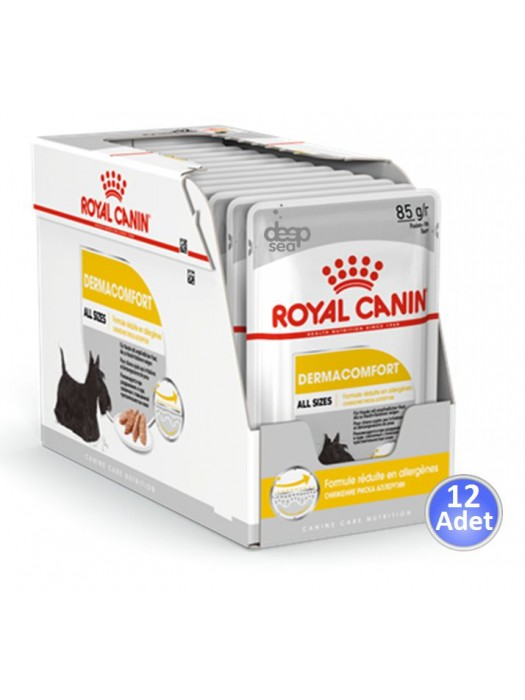 ROYAL CANIN DERMACOMFORT POUCH 85GR / 12 ΦΑΚΕΛΑΚΙΑ
