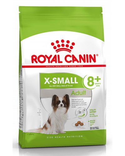 ROYAL CANIN XSMALL ADULT +8 1.5kg