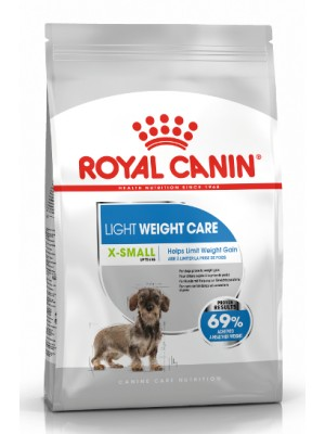 ROYAL CANIN XSMALL LIGHT 1,5KG