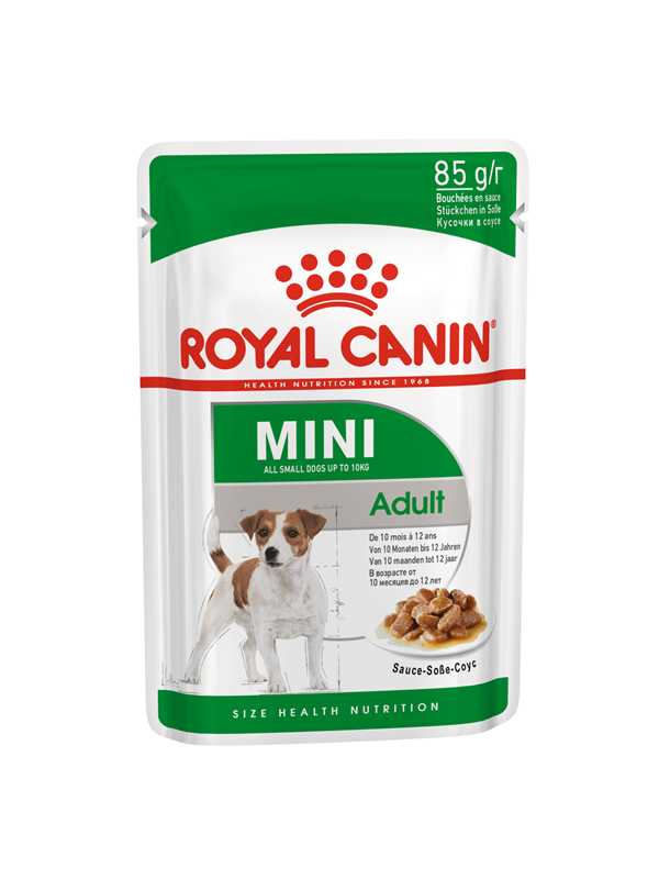 ROYAL CANIN MINI ADULT POUCH 85GR / 12 ΦΑΚΕΛΑΚΙΑ