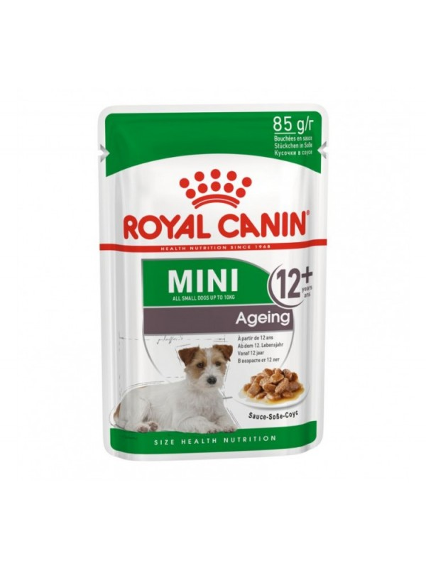 ROYAL CANIN MINI AGEING POUCH 85GR / 12 ΦΑΚΕΛΑΚΙΑ