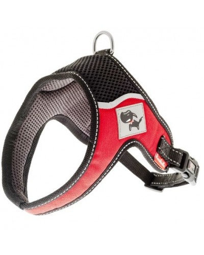 EVEREST HARNESS RED S