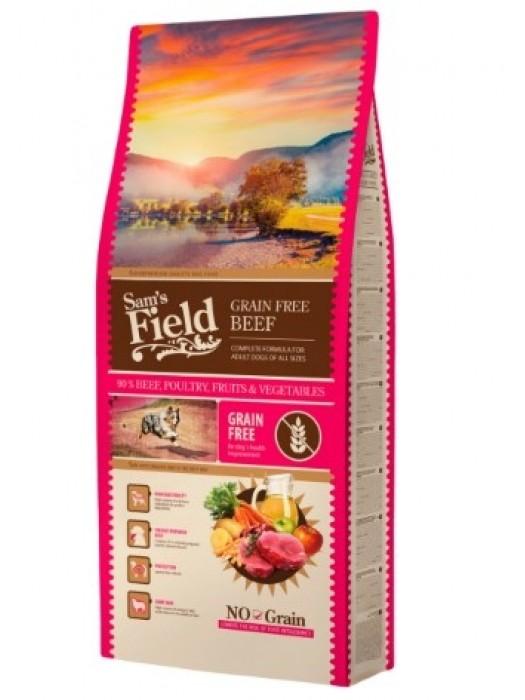 SAM'S FIELD GRAIN FREE BEEF ANGUS 2,5KG (ΒΟΔΙΝΟ ANGUS)