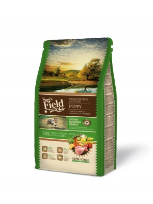 SAM'S FIELD PUPPY CHICKEN & POTATO 800gr