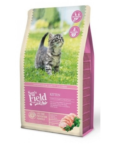 sam's field kitten 2.5kg