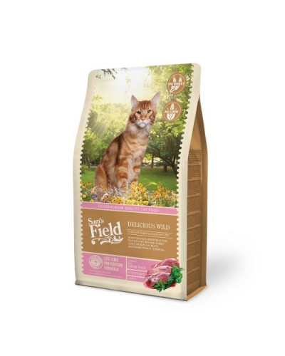 SAM'S FIELD CAT DELICIOUS WILD (ΠΑΠΙΑ) 400gr