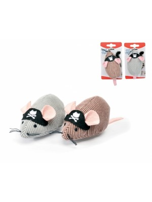 PIRATE MOUSE 10CM