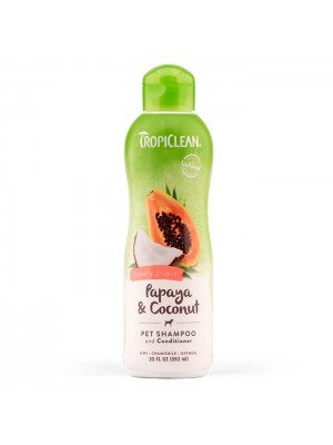 TROPICLEAN COCONUT & PAPAYA 2 in 1 592ml (shampoo & conditioner)